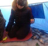 Зимняя рыбалка на Селигере