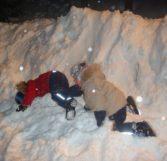 Дети зимой на Селигере